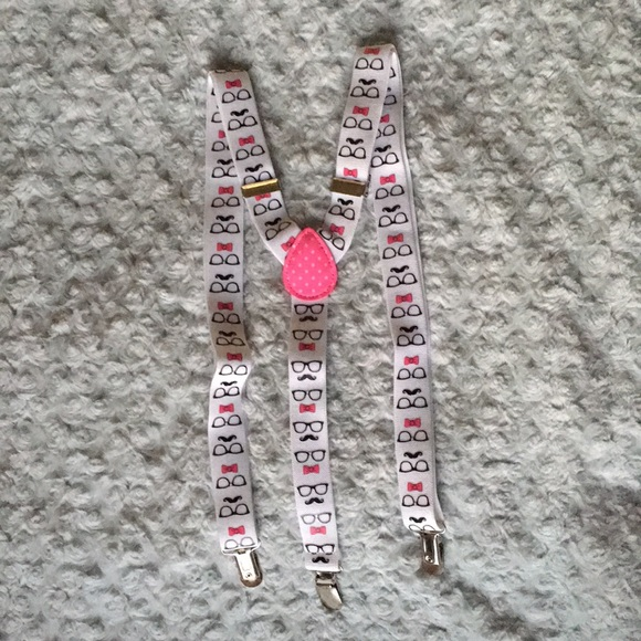 NWOT Cute Suspenders
